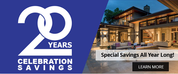 20 years Celebration Savings