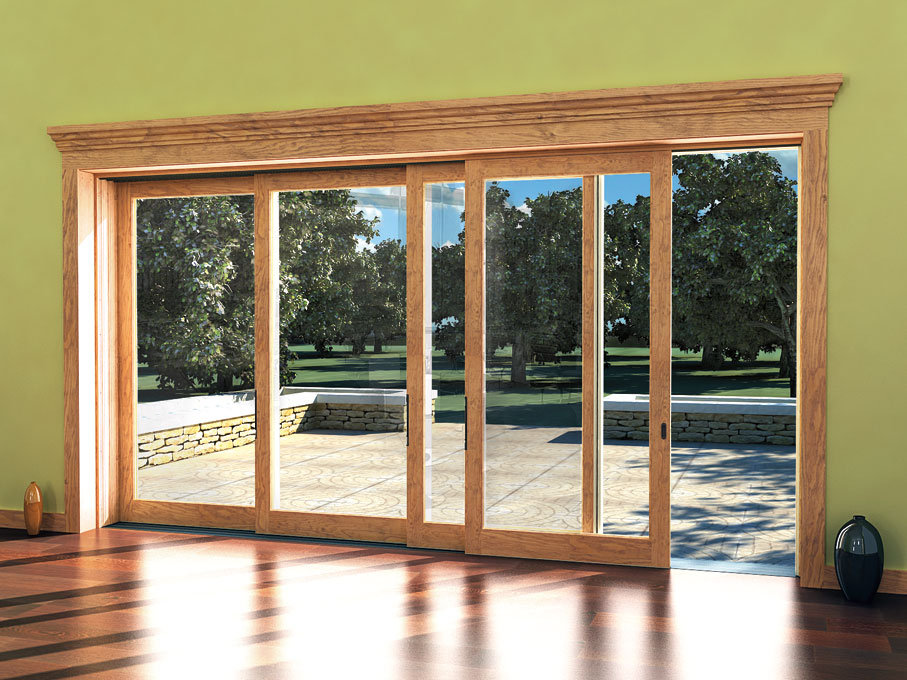 Marvin scenic doors for Outside door with window that opens