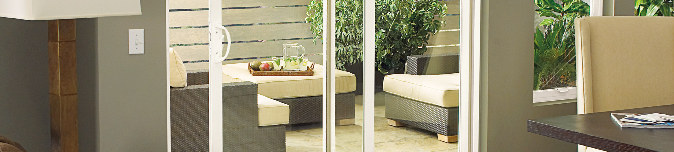 Integrity all ultrex sliding patio door