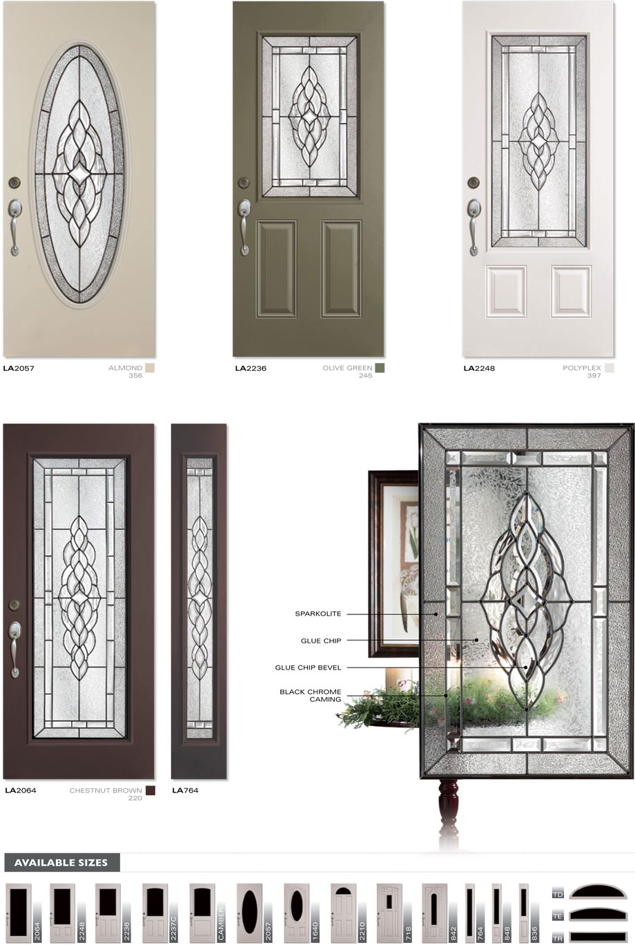 Dorplex Langley Entry Door & Entry Doors Steel Doors Paito Doors Windsor