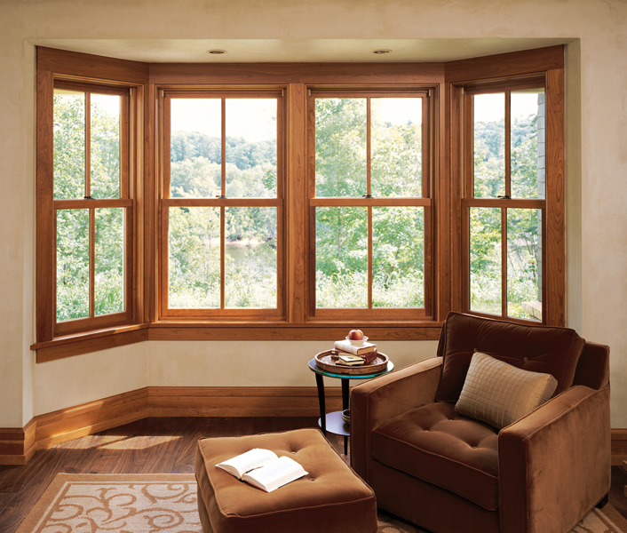 Bay windows marvin windows ontario for Replacement window design ideas
