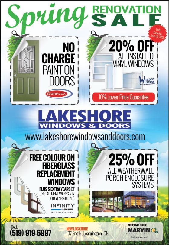 Windows & Doors Leamington Ontario